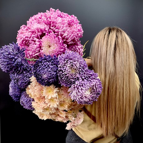 Mothers Day Mixed Chrysanthemums FLORIST CHOICE