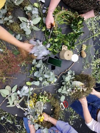 11th Dec Wreath Workshop 2