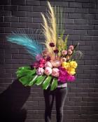 N/A Modern A-line Floral Design