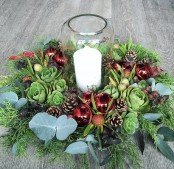 18th Dec X-mas Table Arrangement Workshop