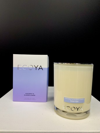 ADD an ECOYA CANDLE - Coconut & Elderflower