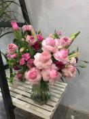 Pastel Vase Arrangement
